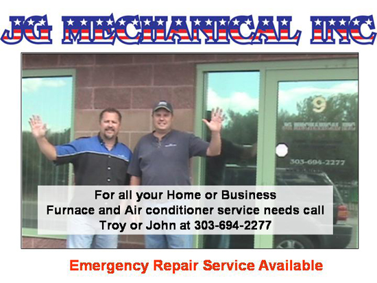 Furnace Repair Centennial